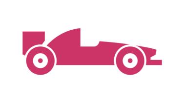 レース用電気自動車の車体外装全体にセルロースナノファイバー成形体を実装